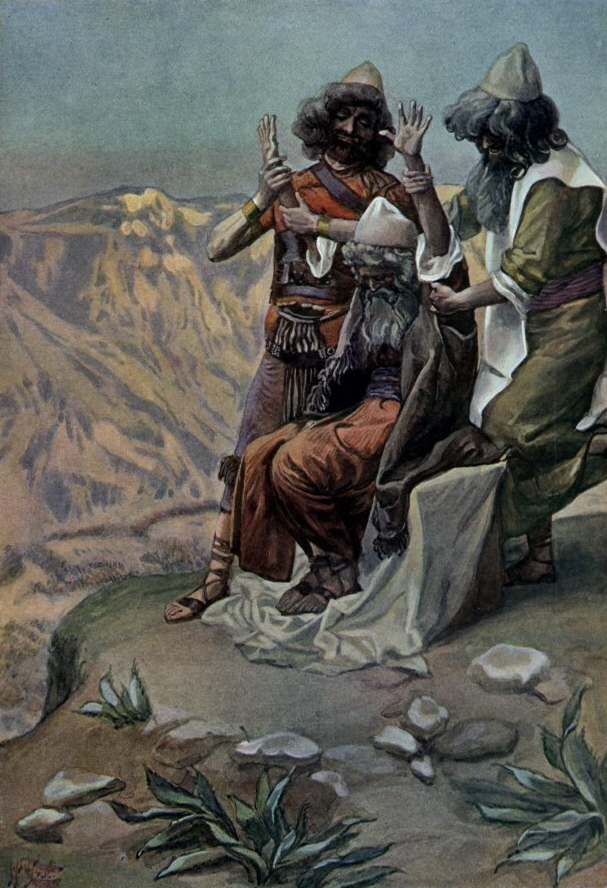 https://upload.wikimedia.org/wikipedia/commons/2/28/Tissot_Moses_on_the_Mountain_During_the_Battle.jpg