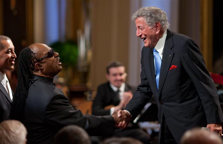 Tony Bennett meets Stevie Wonder