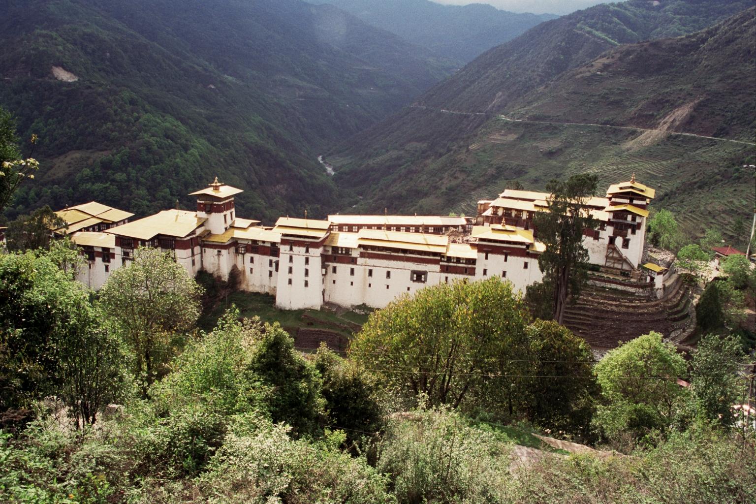 Trongsa Dzong Wikipedia