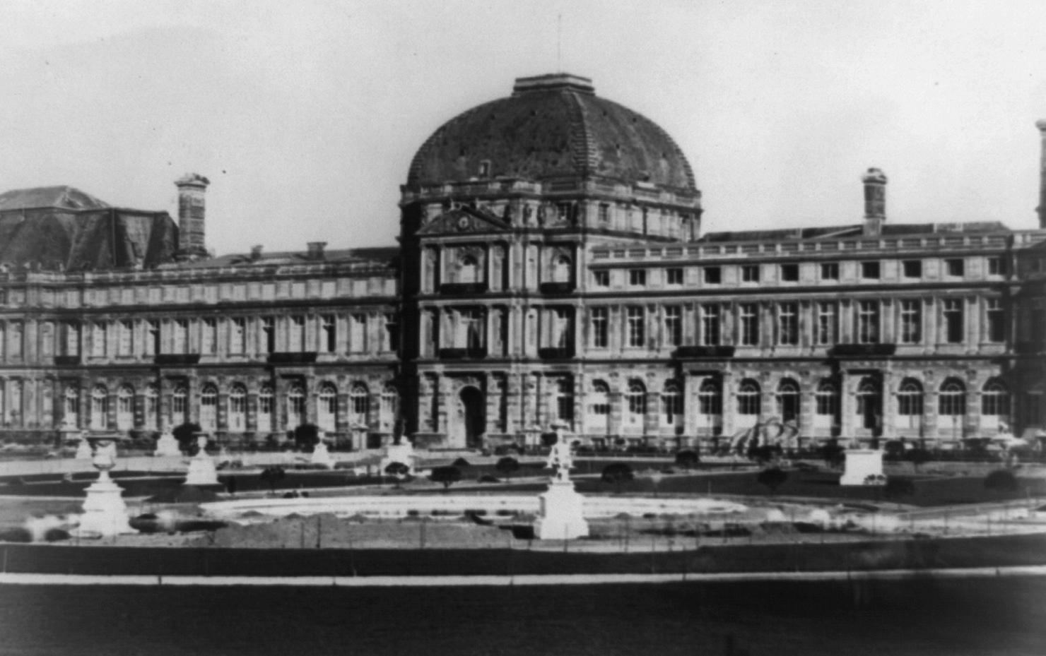 """Résultat de recherche d'images pour """"pavillon de l'Horloge des Tuileries"""""""