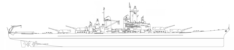 Line Art Reddit : Cancelled battleship uss montana bb size comparison