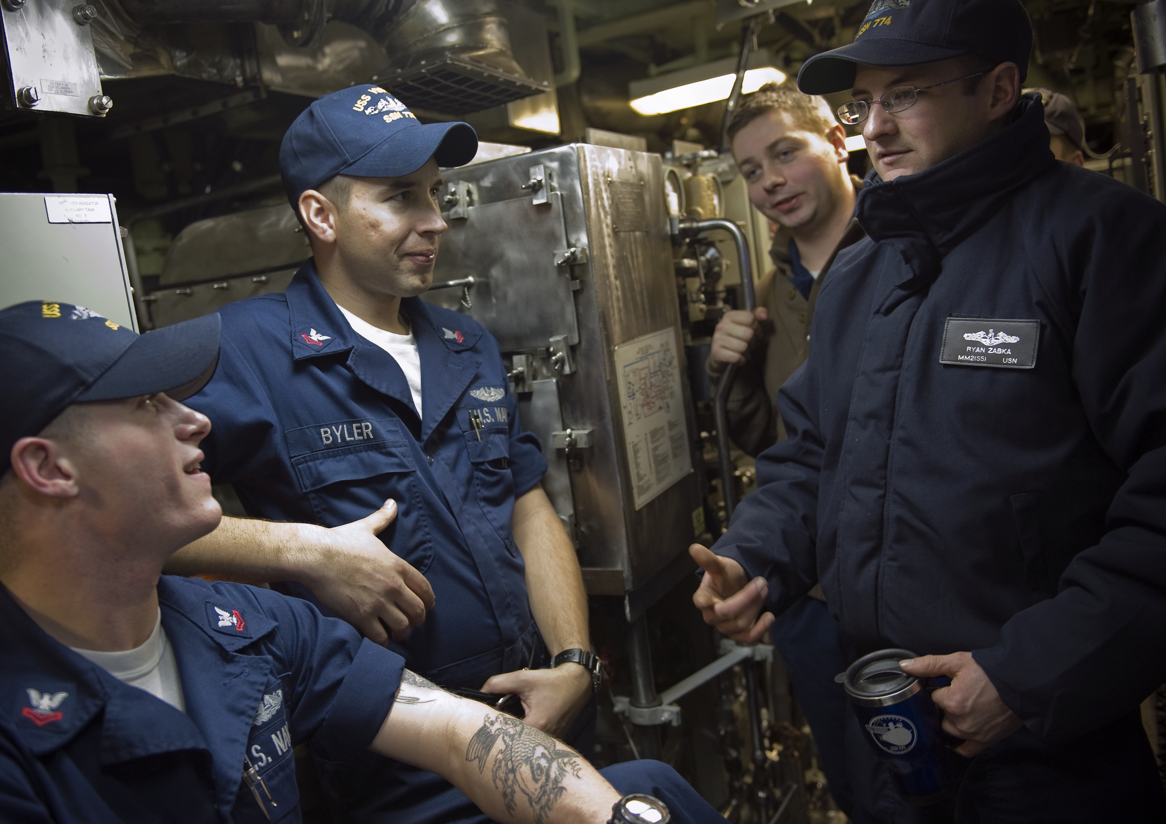 ... aboard the Virginia-class attack submarine USS Virginia (SSN 774).jpg