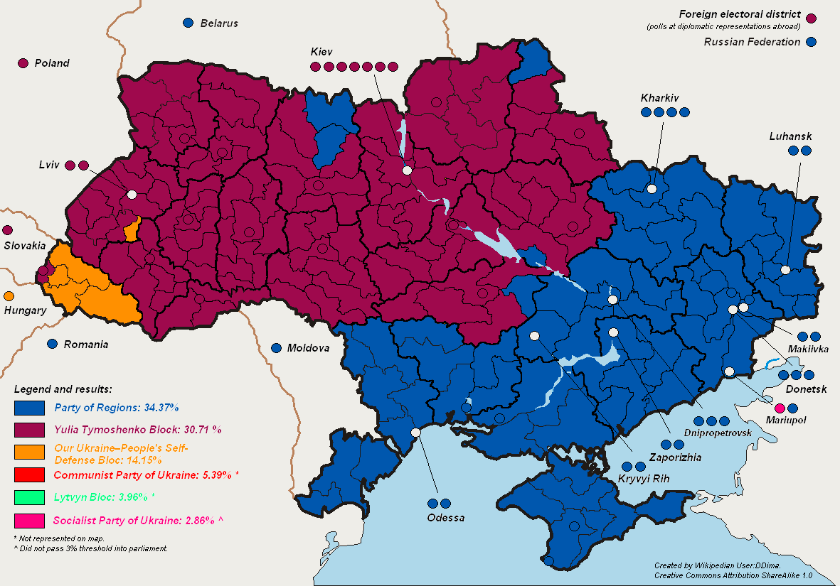 Ukraine Wahlen