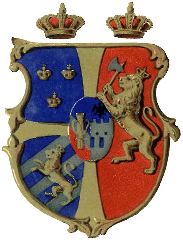 Union arms of Sweden and Norway