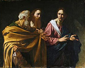 Calling of Saints Andrew and Peter, by Caravaggio