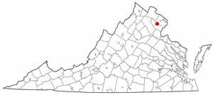 National Register of Historic Places listings in Manassas Park, Virginia