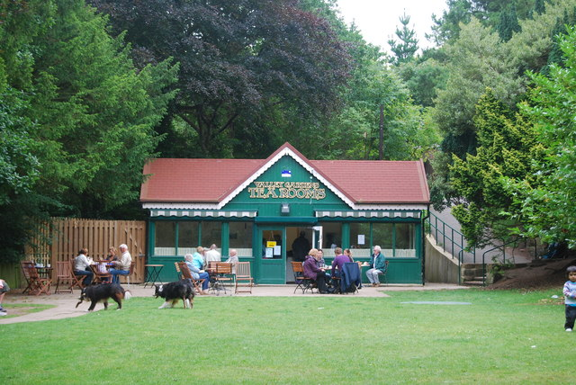 Valley Gardens Tea Rooms, Saltburn-by-the-Sea - geograph.org.uk - 1445168