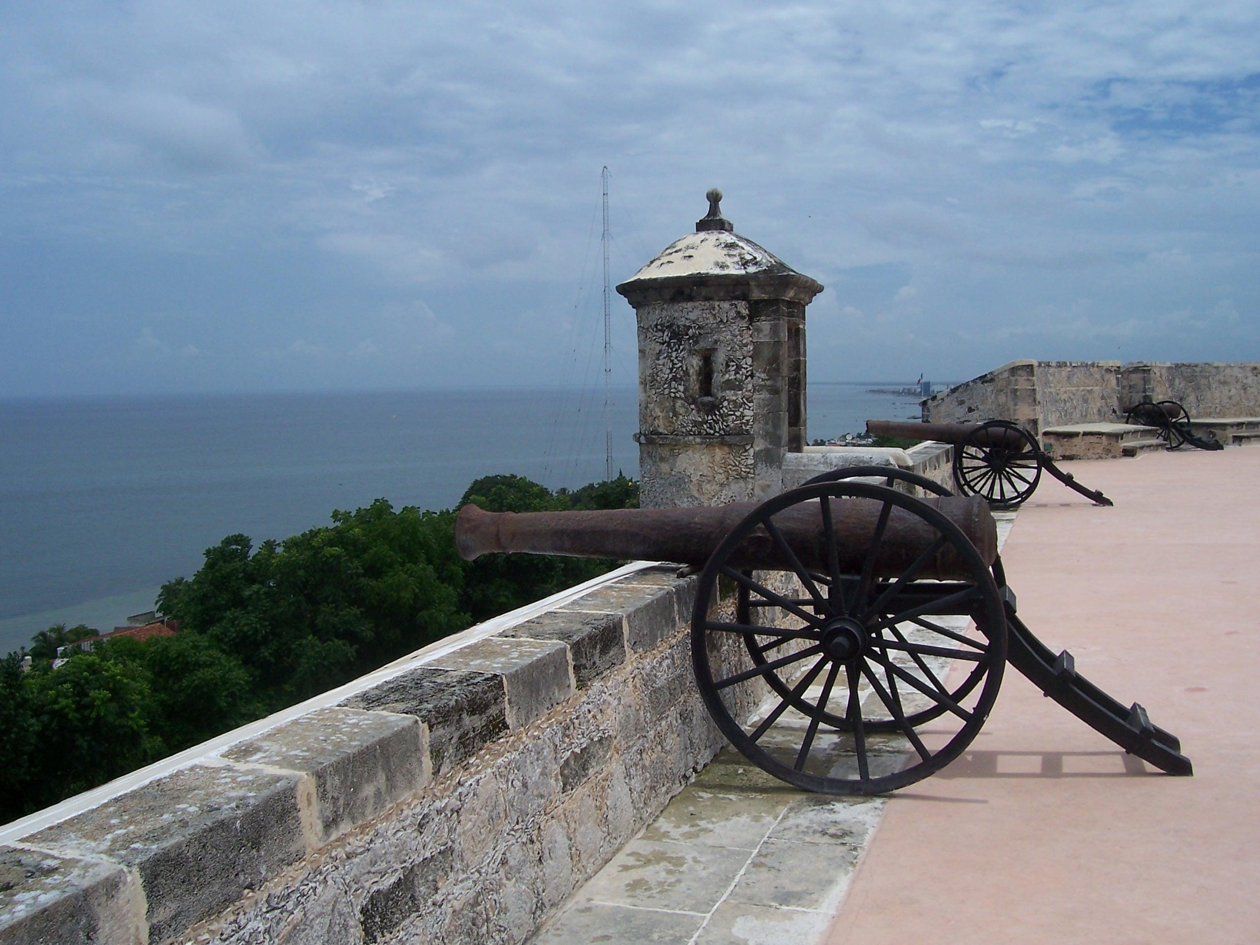 El Fuerte de San Miguel fue construido a finales del siglo XVIII.