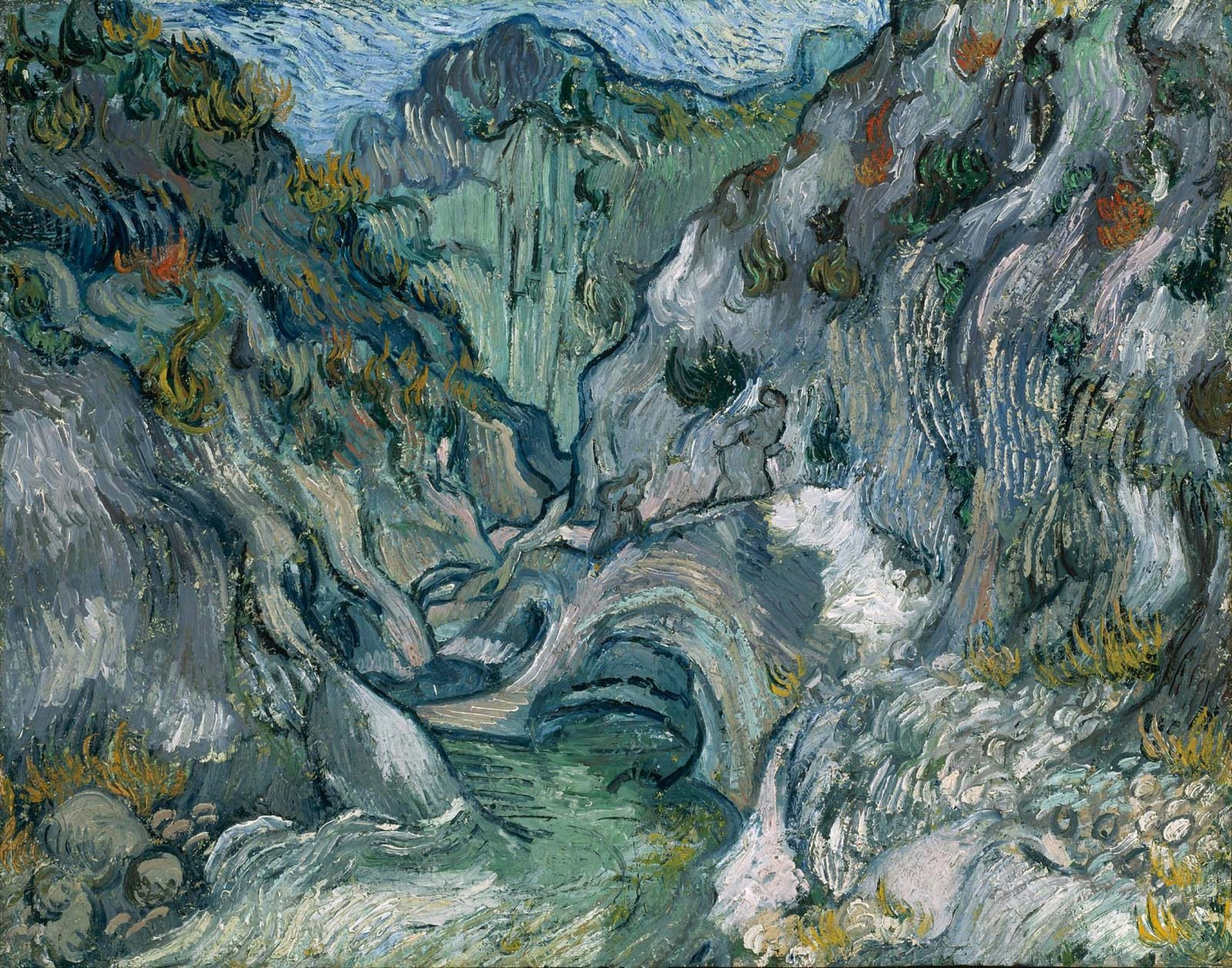 Vincent van Gogh, The Ravine