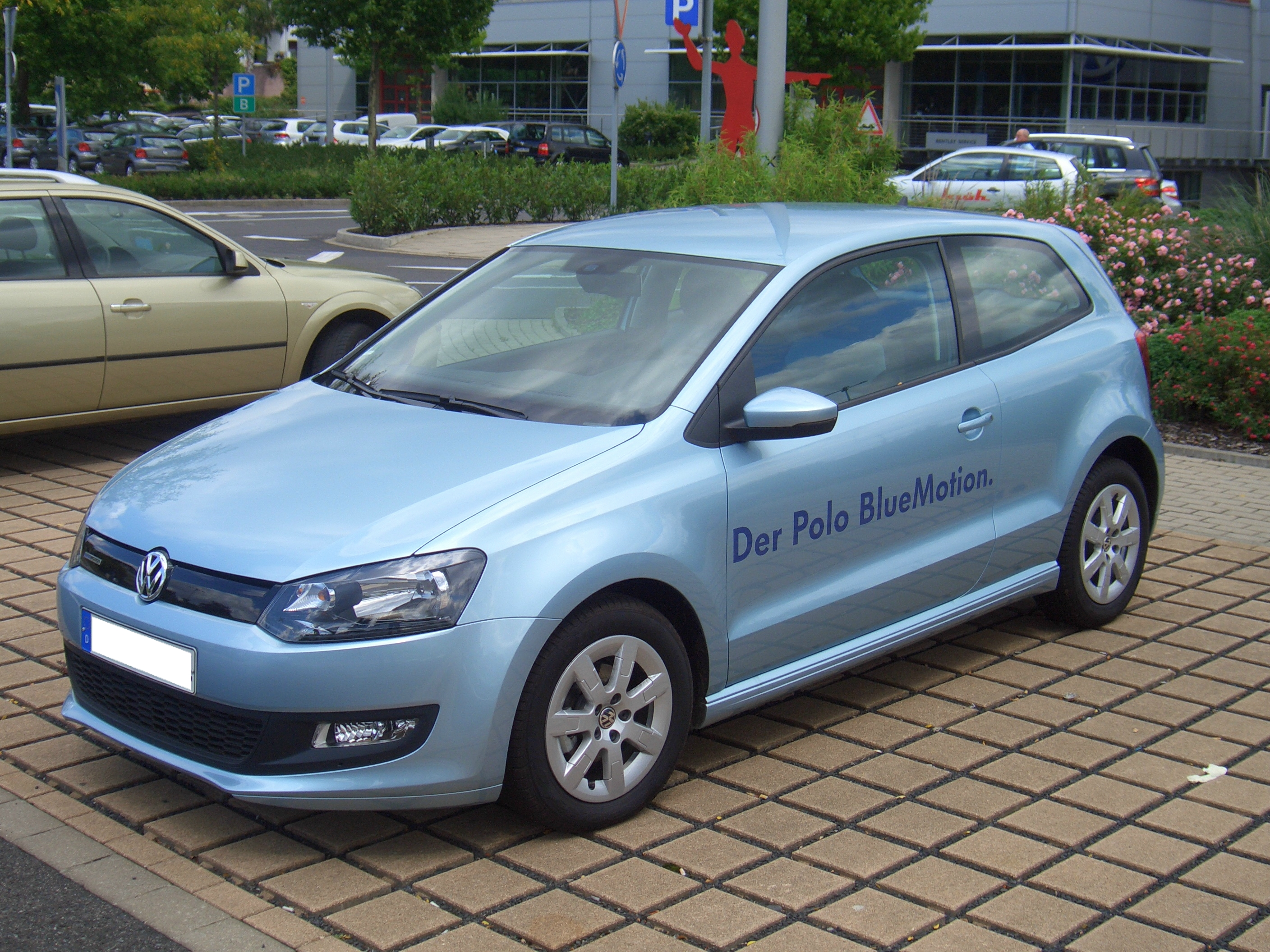 File Volkswagen Polo Blue Motion 2door 6r From 2009
