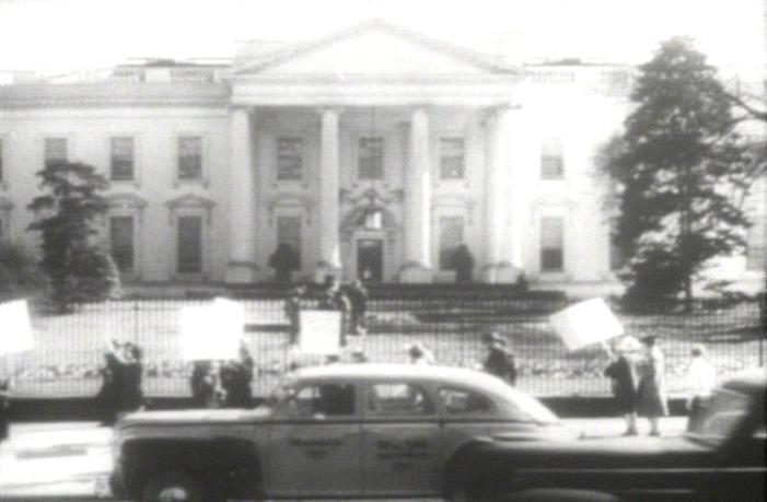 American Peace Mobilization - Wikipedia 1940s White House Scottie