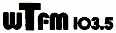 The WTFM logo from 1980–1982
