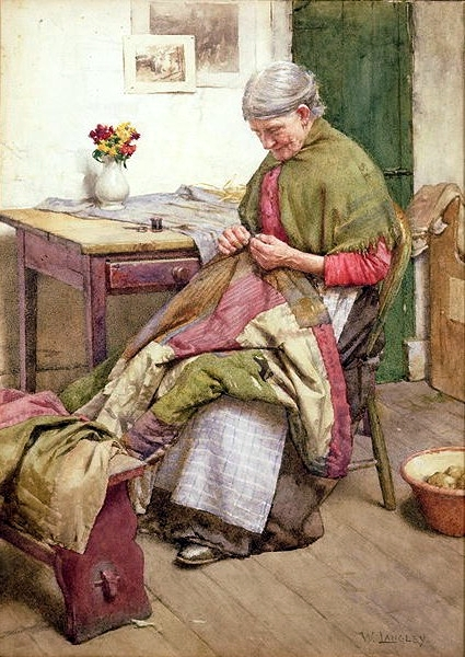 Walter Langley - The Old Quilt