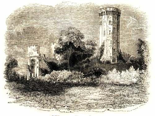 File:Warwick Castle, 1845.jpg