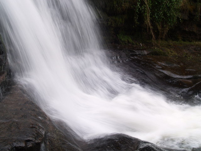 Waterfalls on the Caerfanell, Blaen y Glyn - geograph.org.uk - 1162689