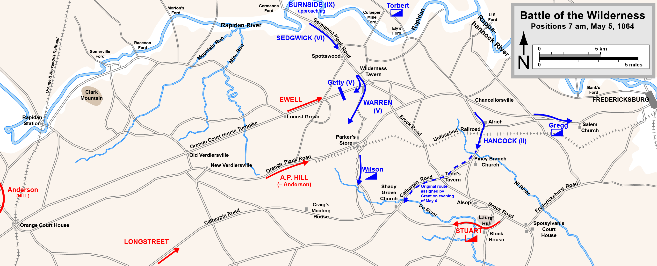 a look at the 1863 battlefield in the wilderness of spotsylvania