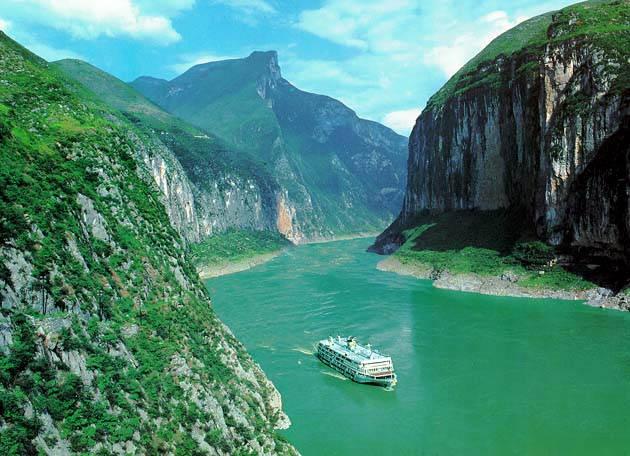 Yangtze River in China