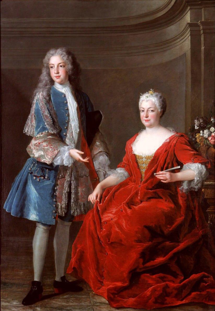Élisabeth Charlotte d'Orléans with her son François Étienne de Lorraine.jpg