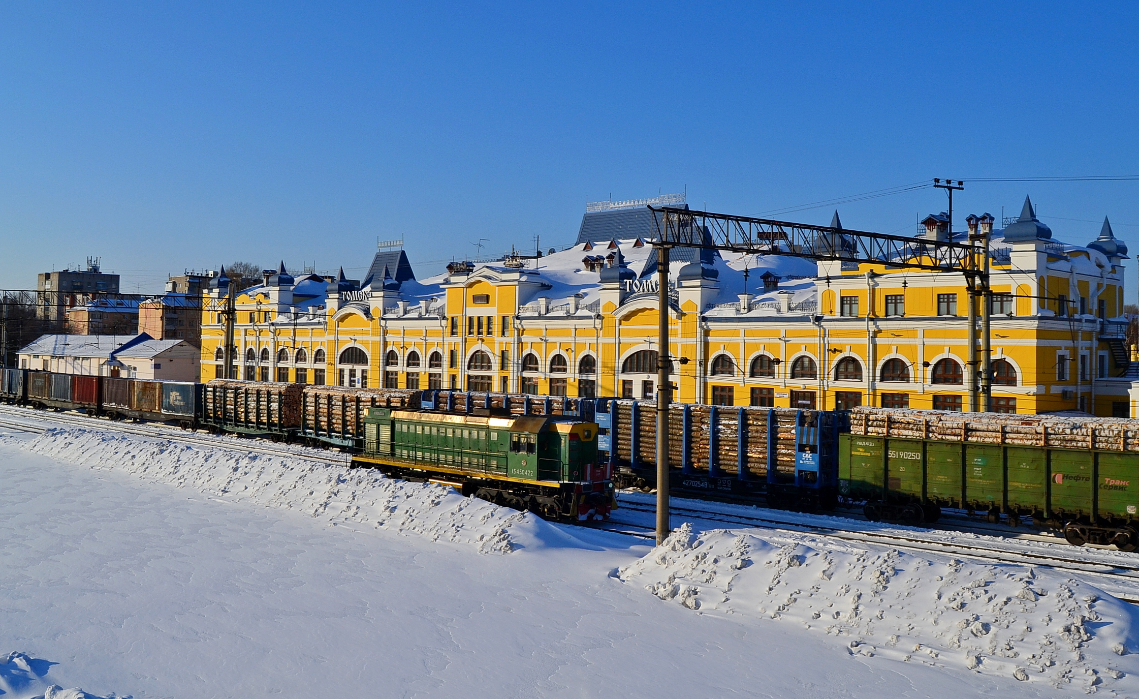 Фото вокзала томска