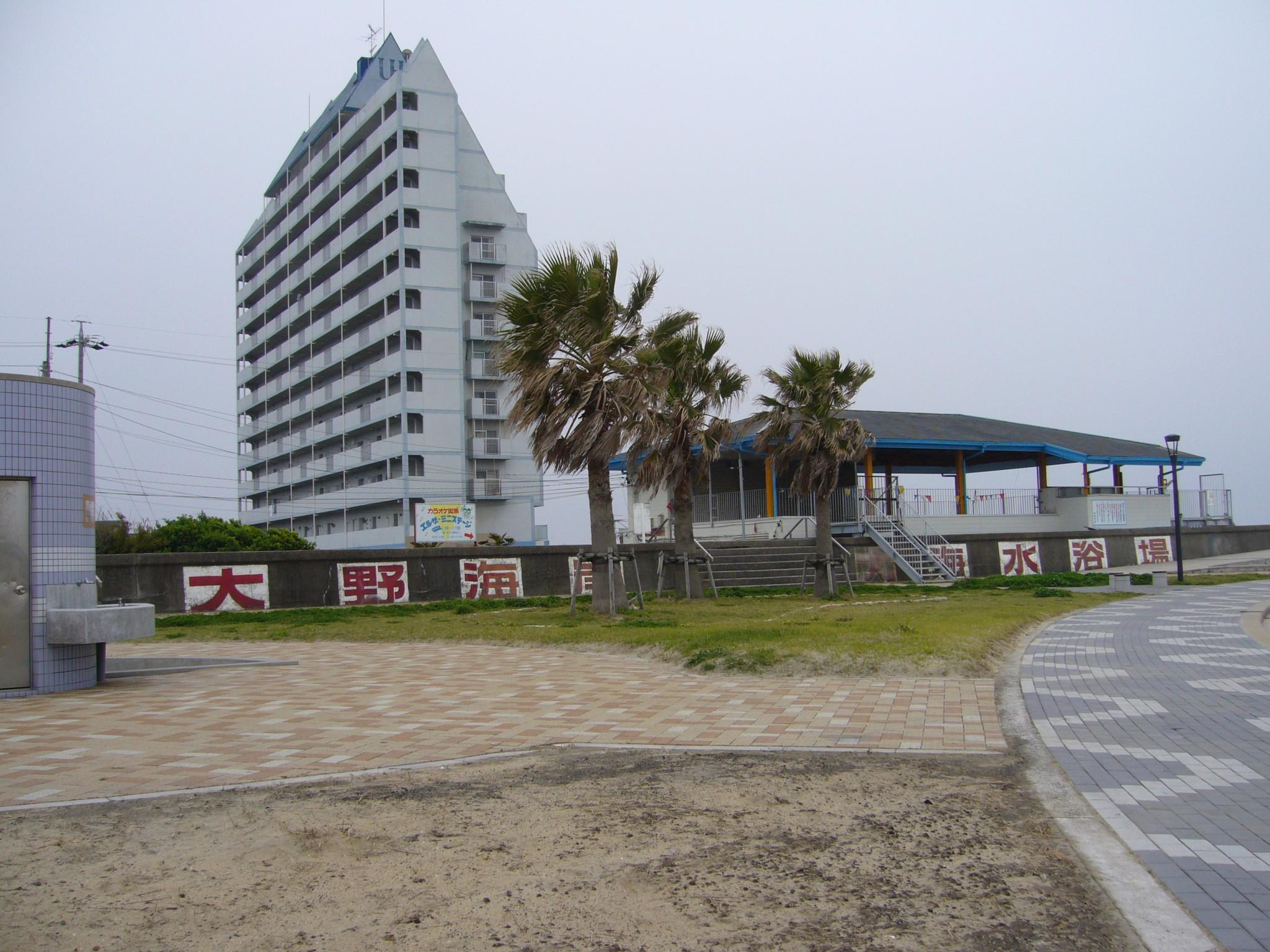 """File:大野海岸海水浴場""""日本最古の海水浴場"""" (愛知県常滑市 ..."""