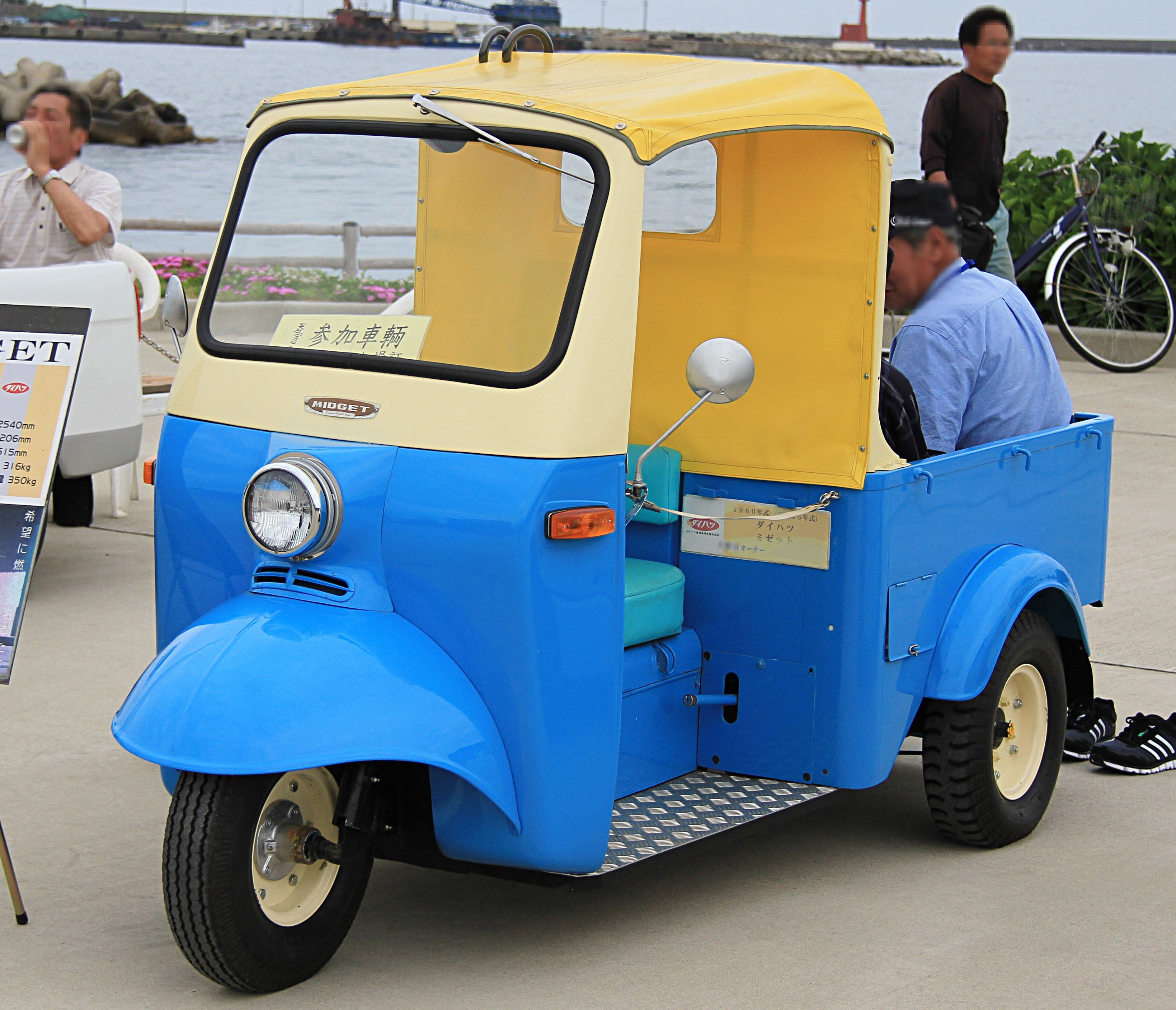 Daihatsu midget i length are