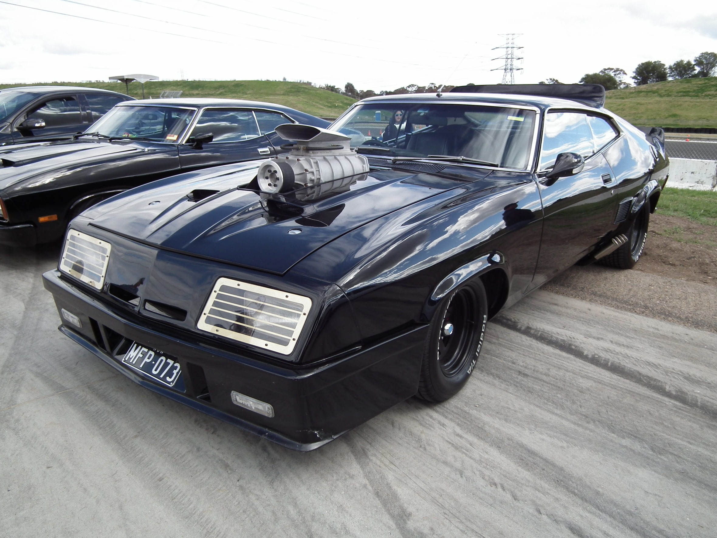 file 1973 ford xb falcon gt hardtop mad max interceptor replica 7708194434 jpg wikimedia. Black Bedroom Furniture Sets. Home Design Ideas