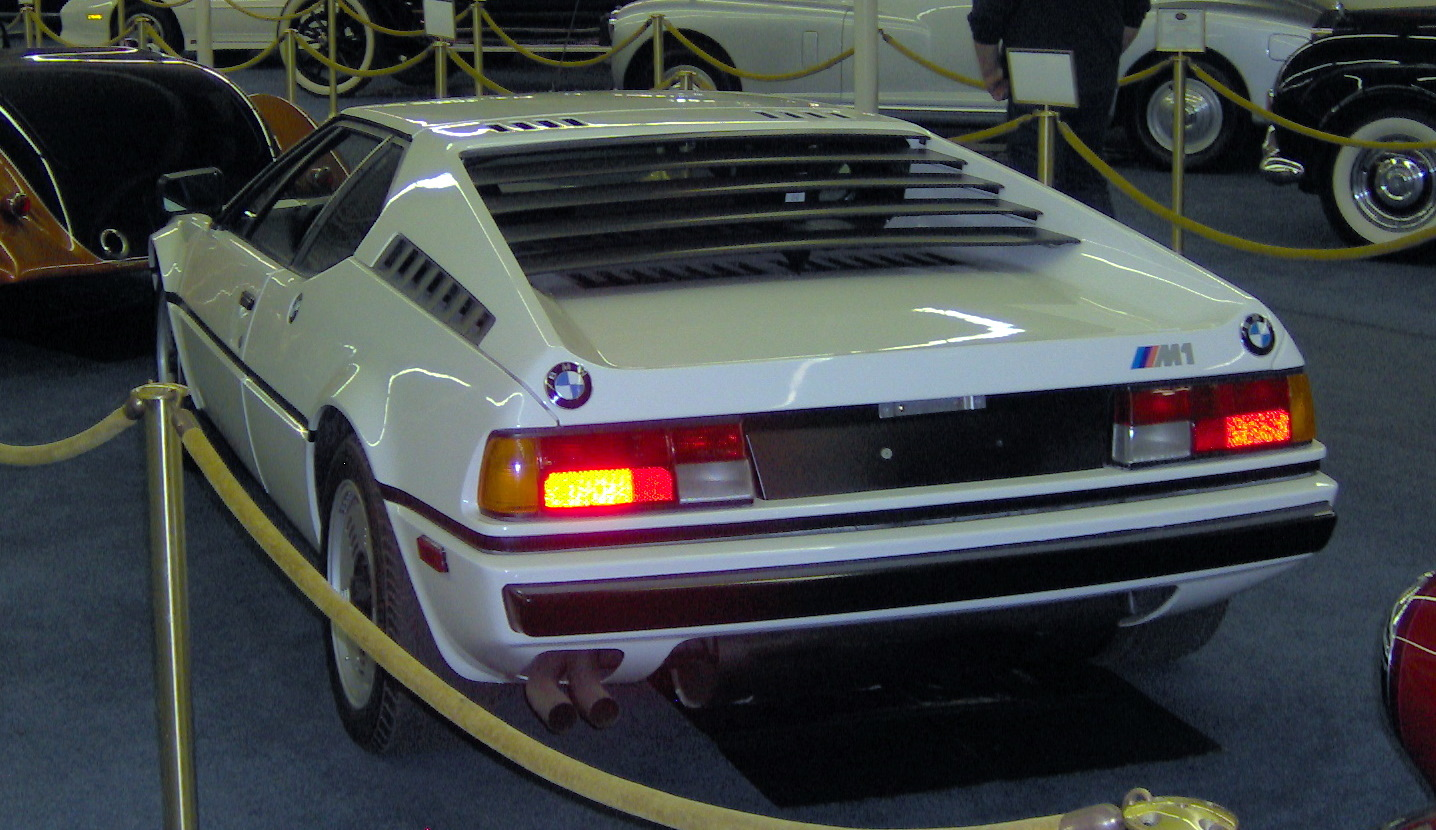 file 1981 bmw m1 rear jpg