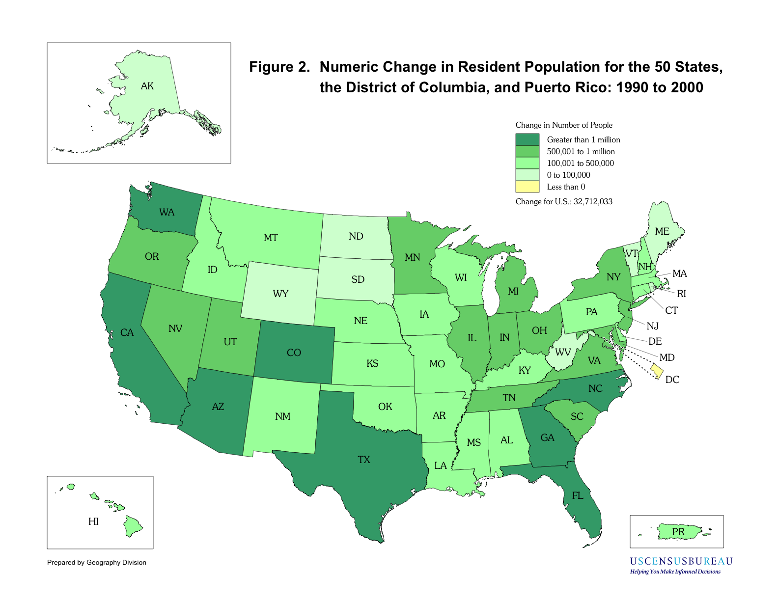 the results of the 2000 population census in the united states Latest population, income, poverty, age, education, housing, business, industry, race, origins, language, governments and veterans statistics for united states.