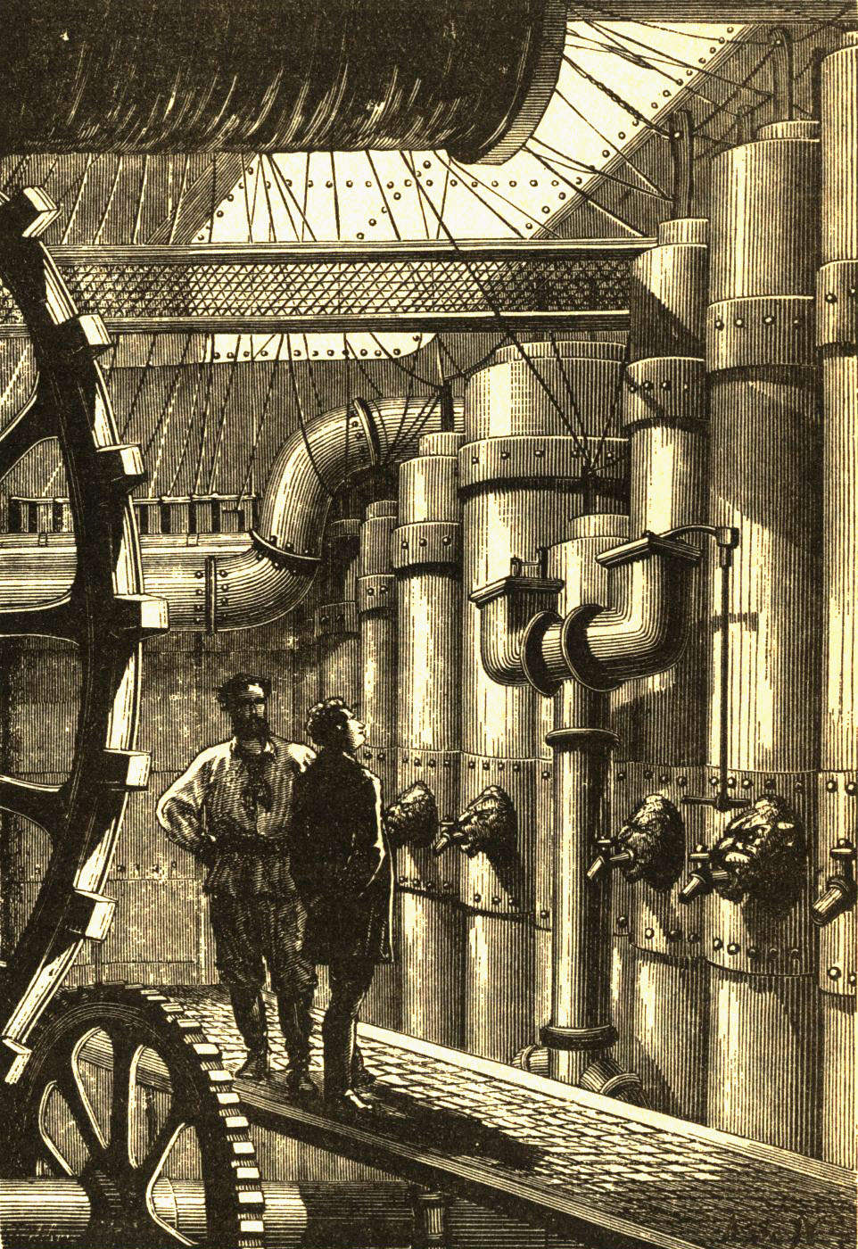 Nautilus engine room