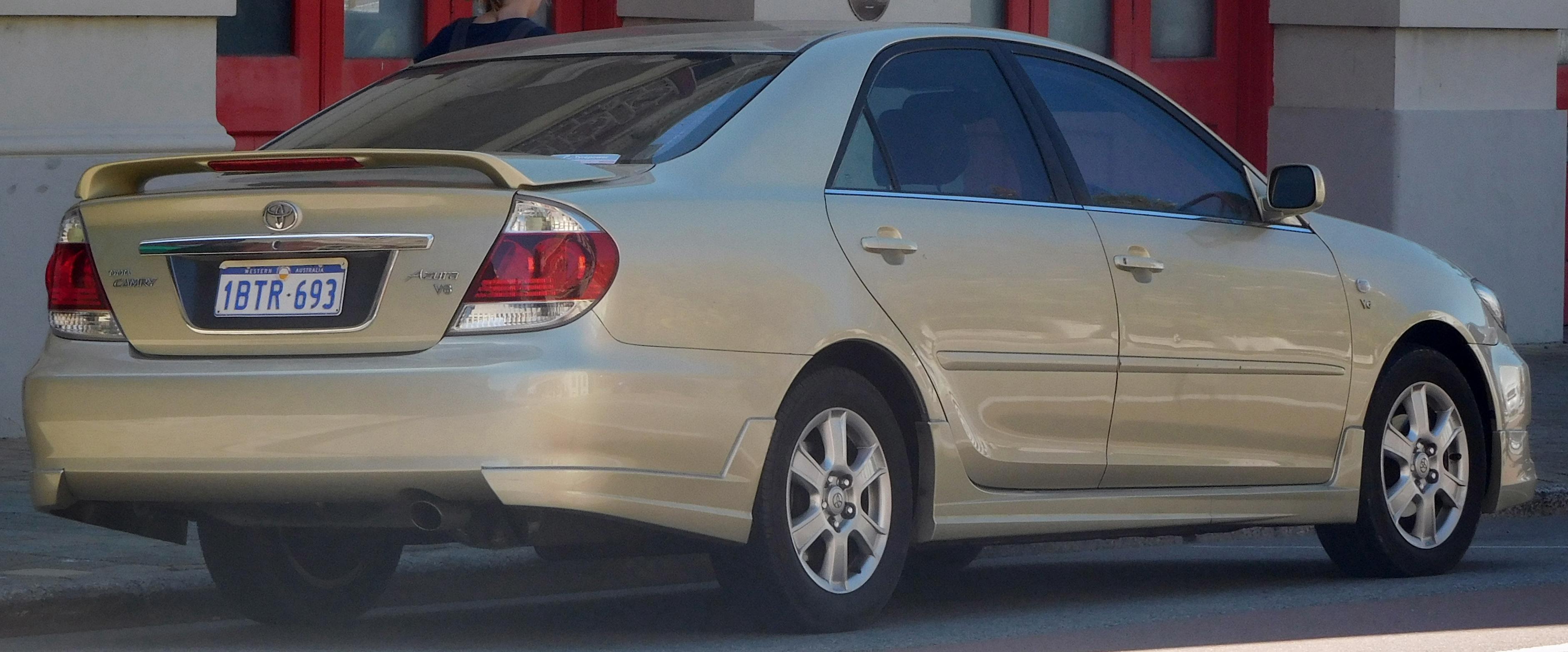 File 2004 2006 Toyota Camry Mcv36r Azura V6 Sedan 2018