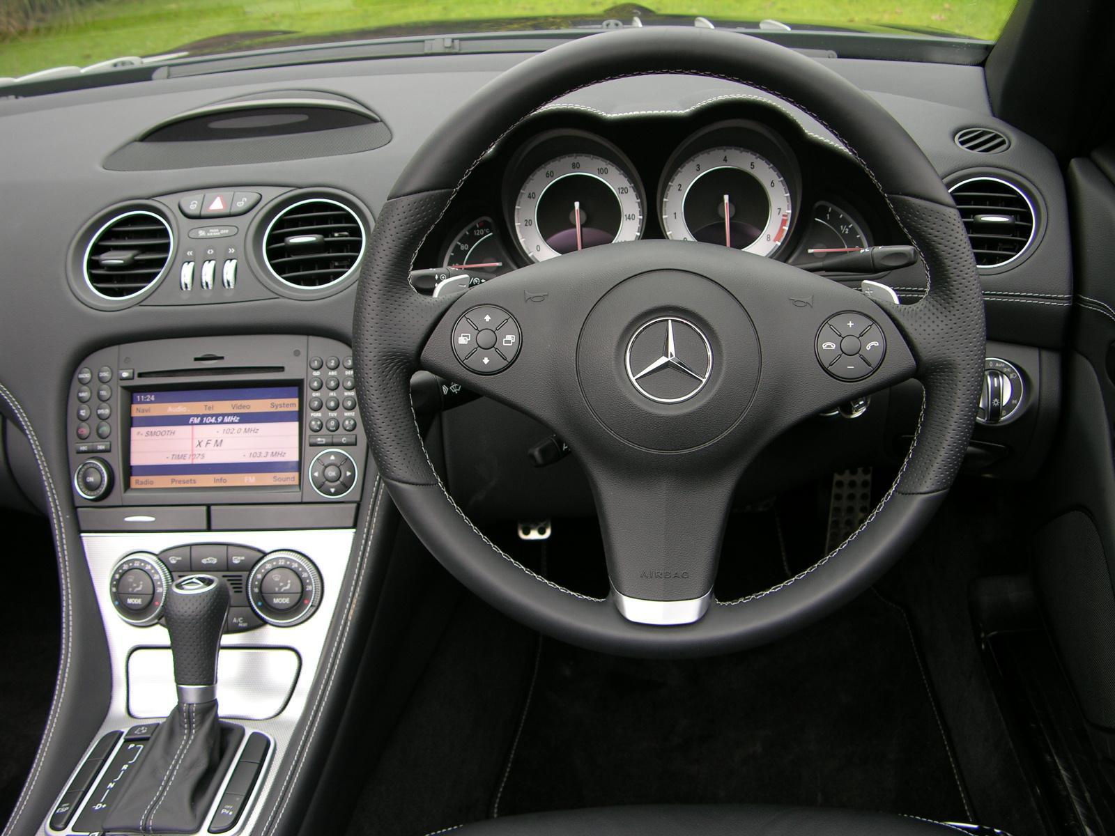 Image Gallery 2008 Sl500 Interior