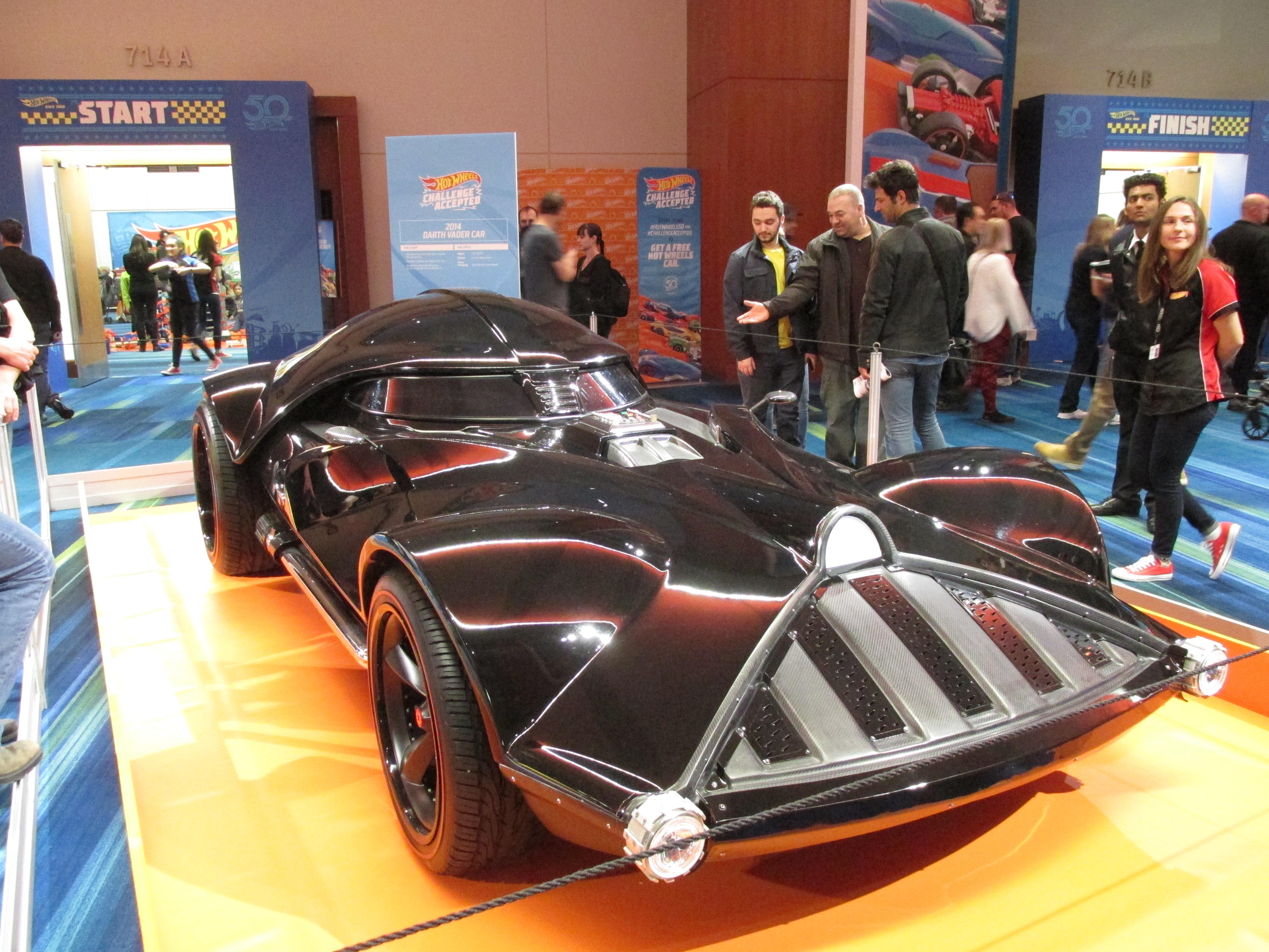 File 2014 Darth Vader Hot Wheels Car 02 Jpg Wikimedia Commons