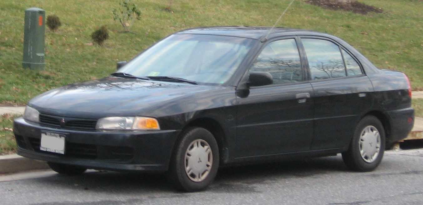 File:5th Mitsubishi Mirage sedan.jpg - Wikimedia Commons