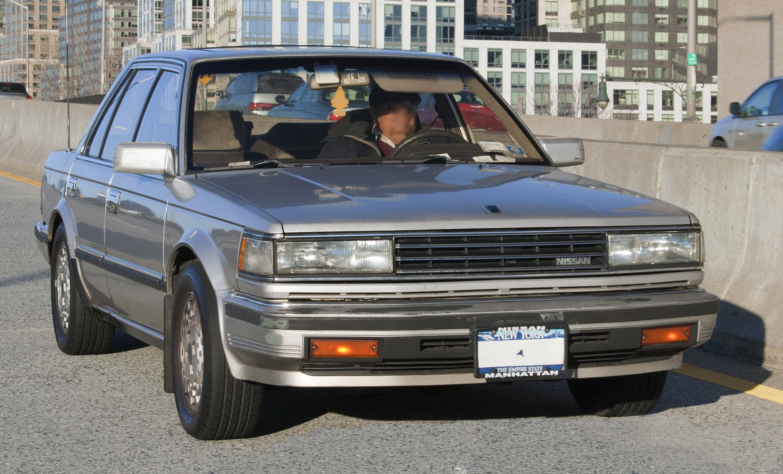 Nissan Maxima 3 >> File:85 or 86 Nissan Maxima.jpg - Wikimedia Commons