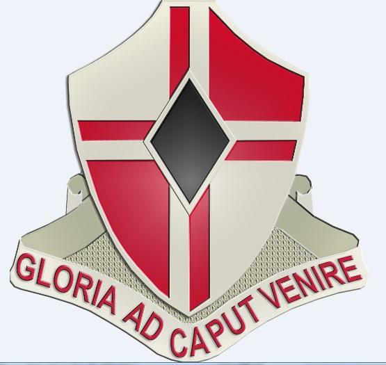 4th Engineering Battalion US Army Unit Crest