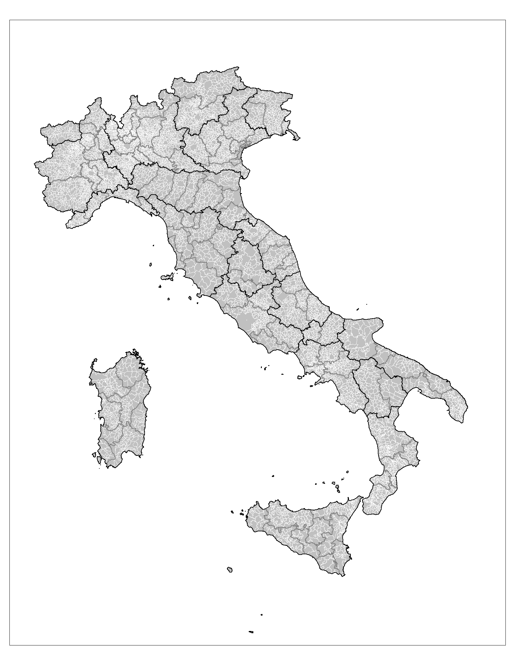 Map Of Provinces In Italy.File Administrative Map Of Italy Showing Regions Provinces And