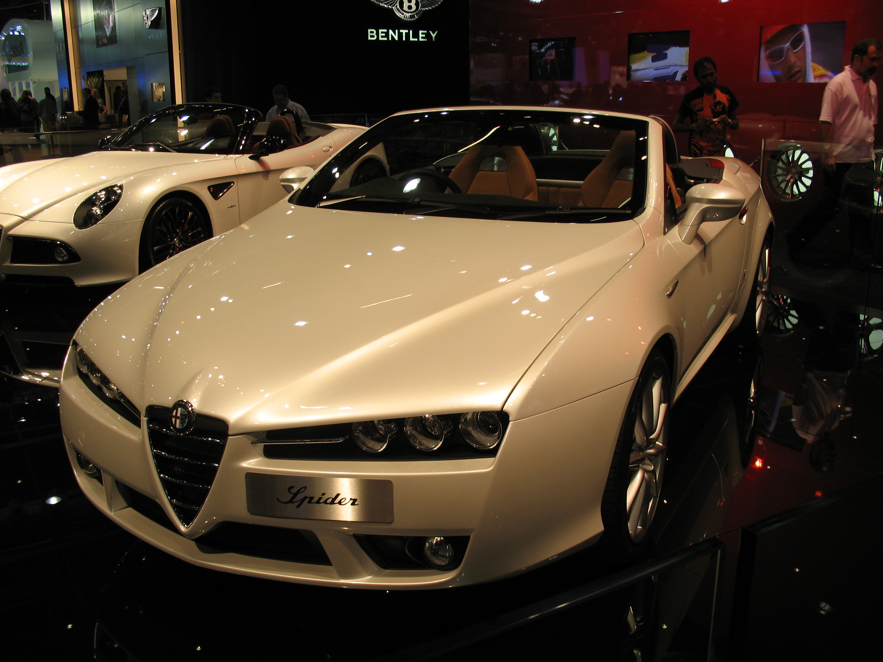 file alfa romeo brera spider wikimedia commons. Black Bedroom Furniture Sets. Home Design Ideas