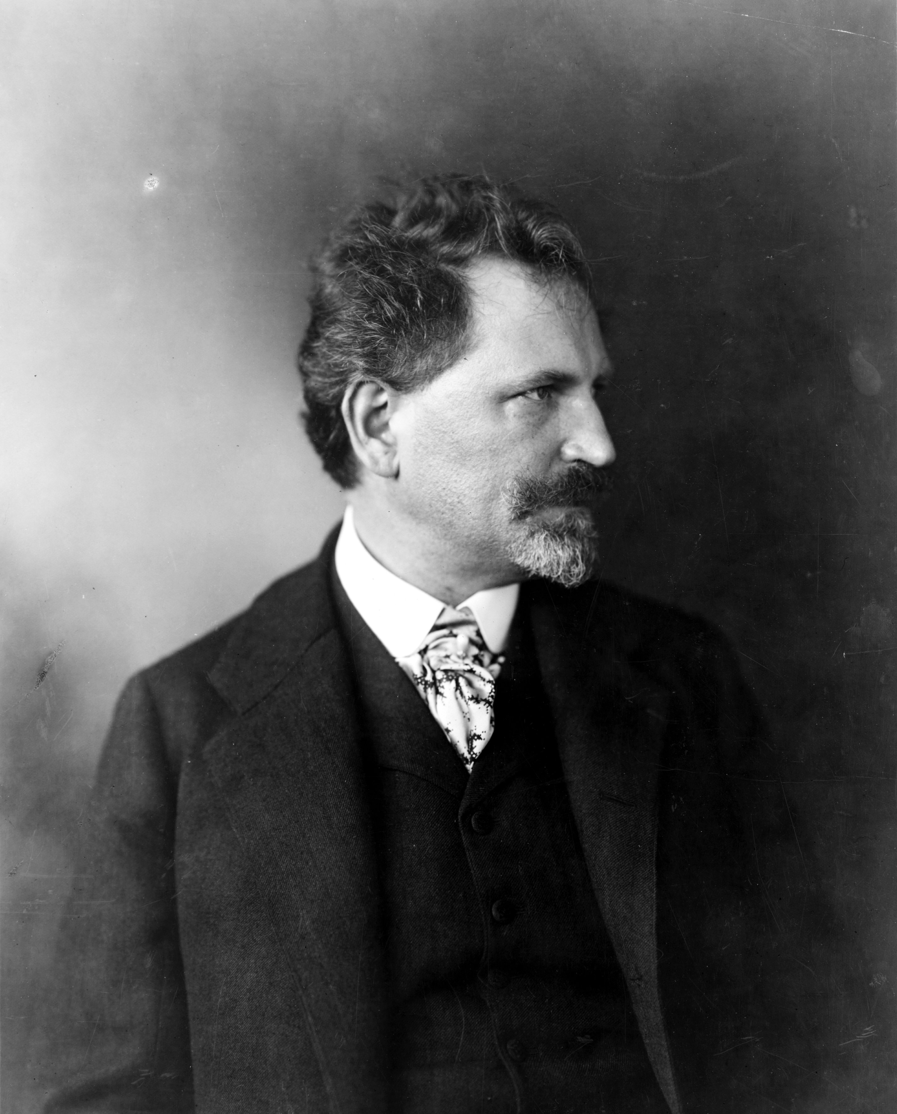 Portrait of Alphonse Mucha