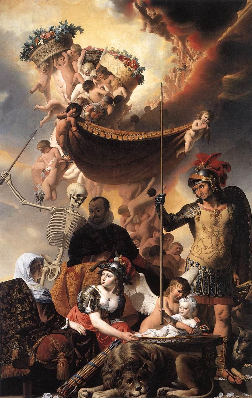 File allegory of the birth of frederik hendrik c1650 caesar van wikimedia commons - Wijnoogst ...