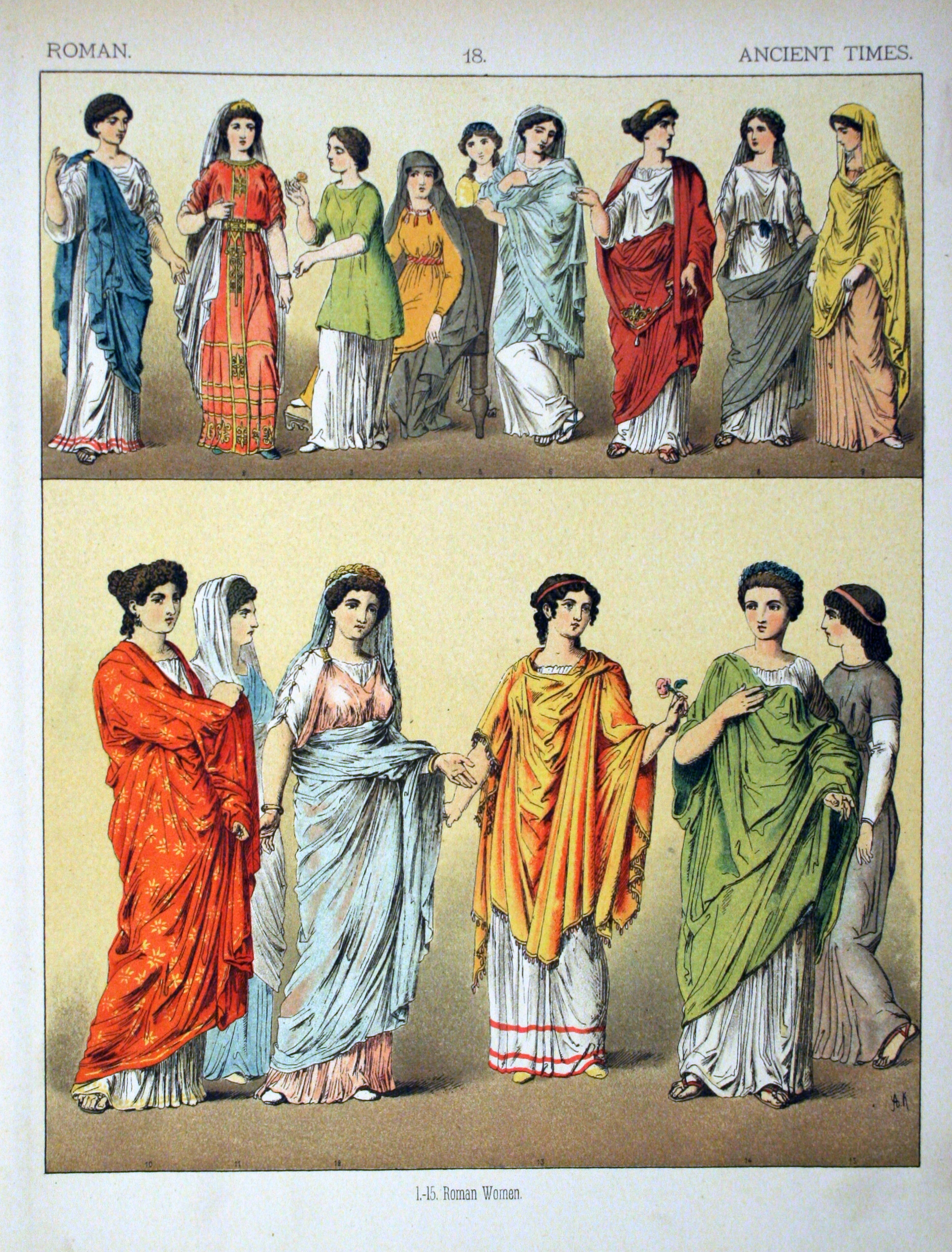 File:Ancient Times, Roman. - 018 - Costumes of All Nations (1882).JPG ...