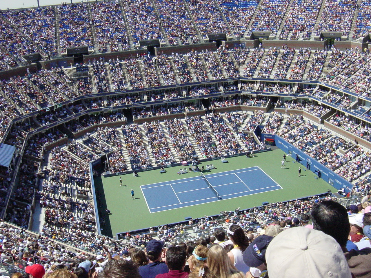 Arthur Ashe Stadium Wikipedia - Us-open-tennis-center-map