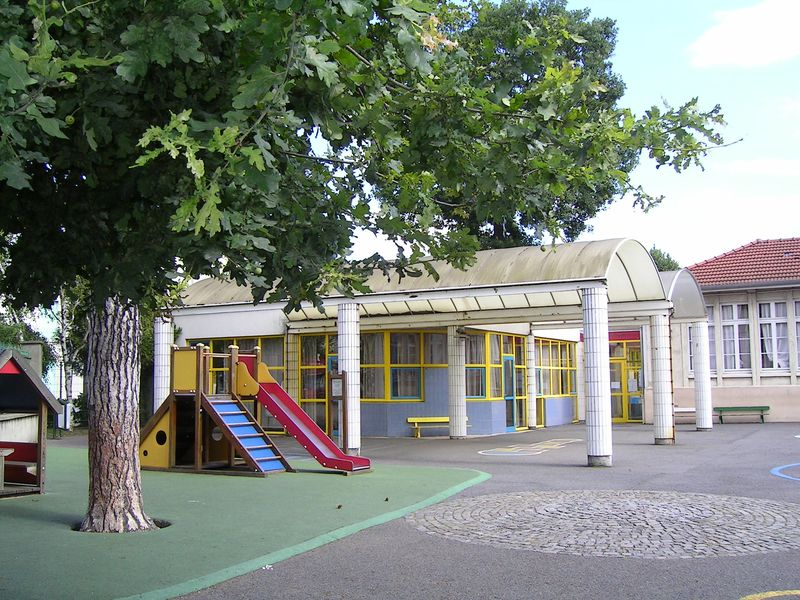File Aulnay sous Bois Ecole maternelle Le Parc jpg Wikimedia Commons # Parc Aulnay Sous Bois