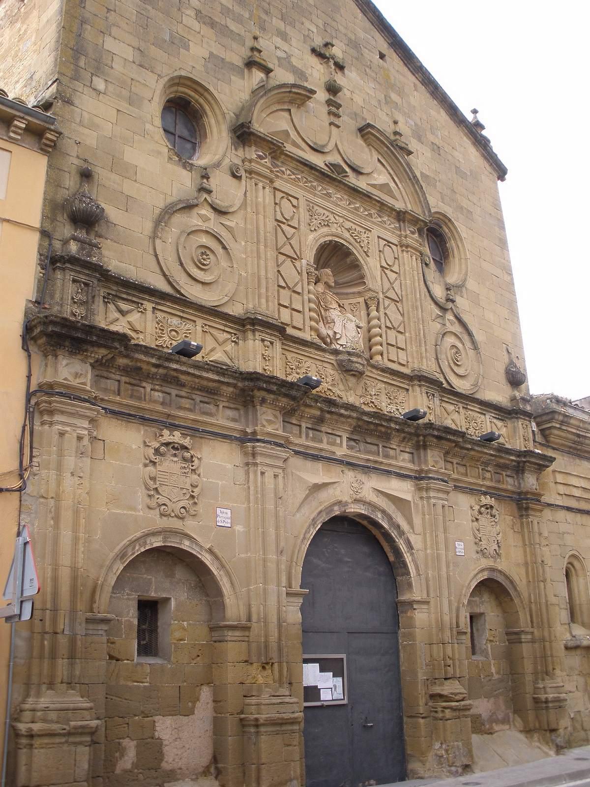 Resultat d'imatges de antigua iglesia de san pedro ayerbe