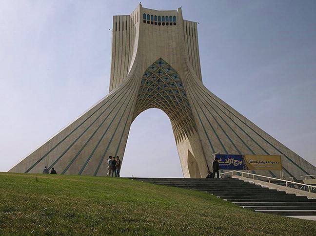 Azadi tower 9