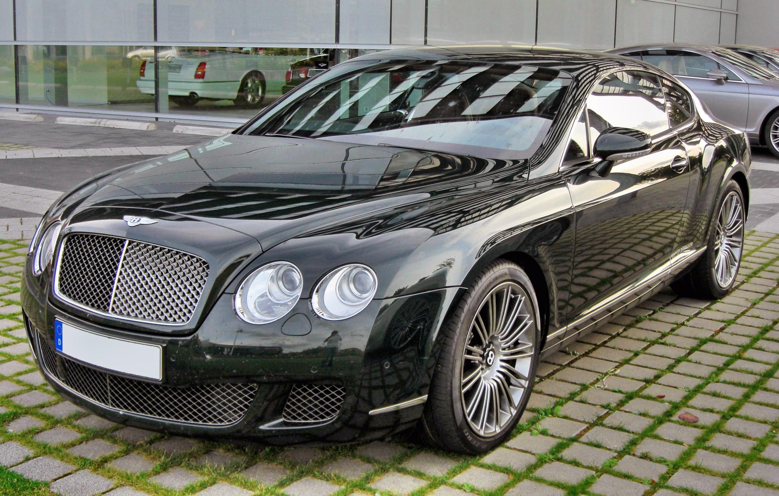 Bentley Continental Dimensions >> File:Bentley Continental GT Speed 20090720 front.JPG - Wikimedia Commons