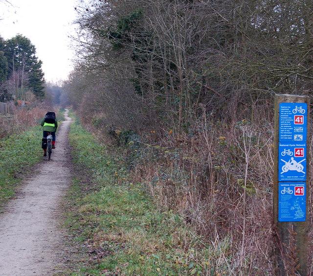 Birdingbury cycleway - geograph.org.uk - 1090619