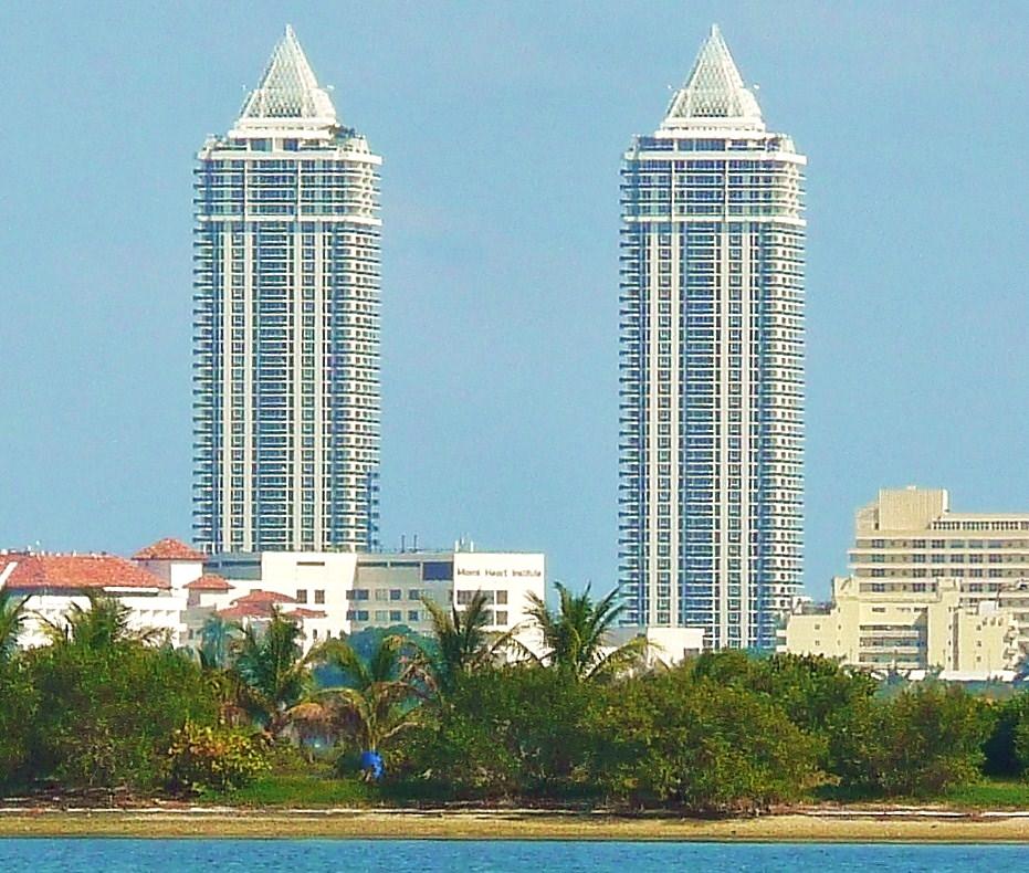 Blue And Green Diamond Miami Beach Florida