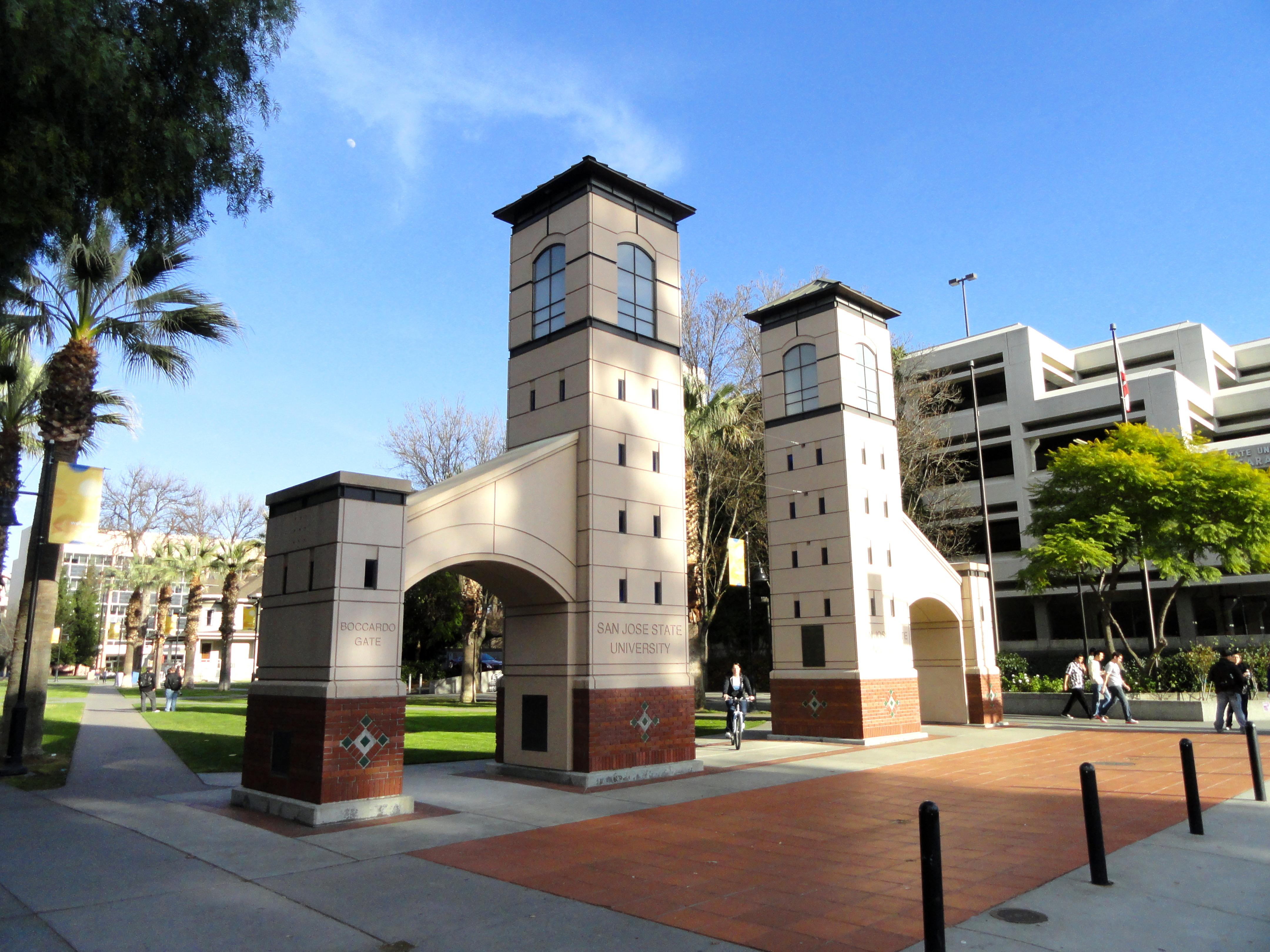 Boccardo Gate  San Jos� State University