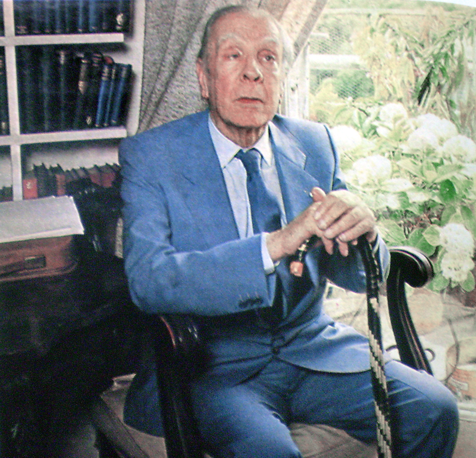 Borges in 1983
