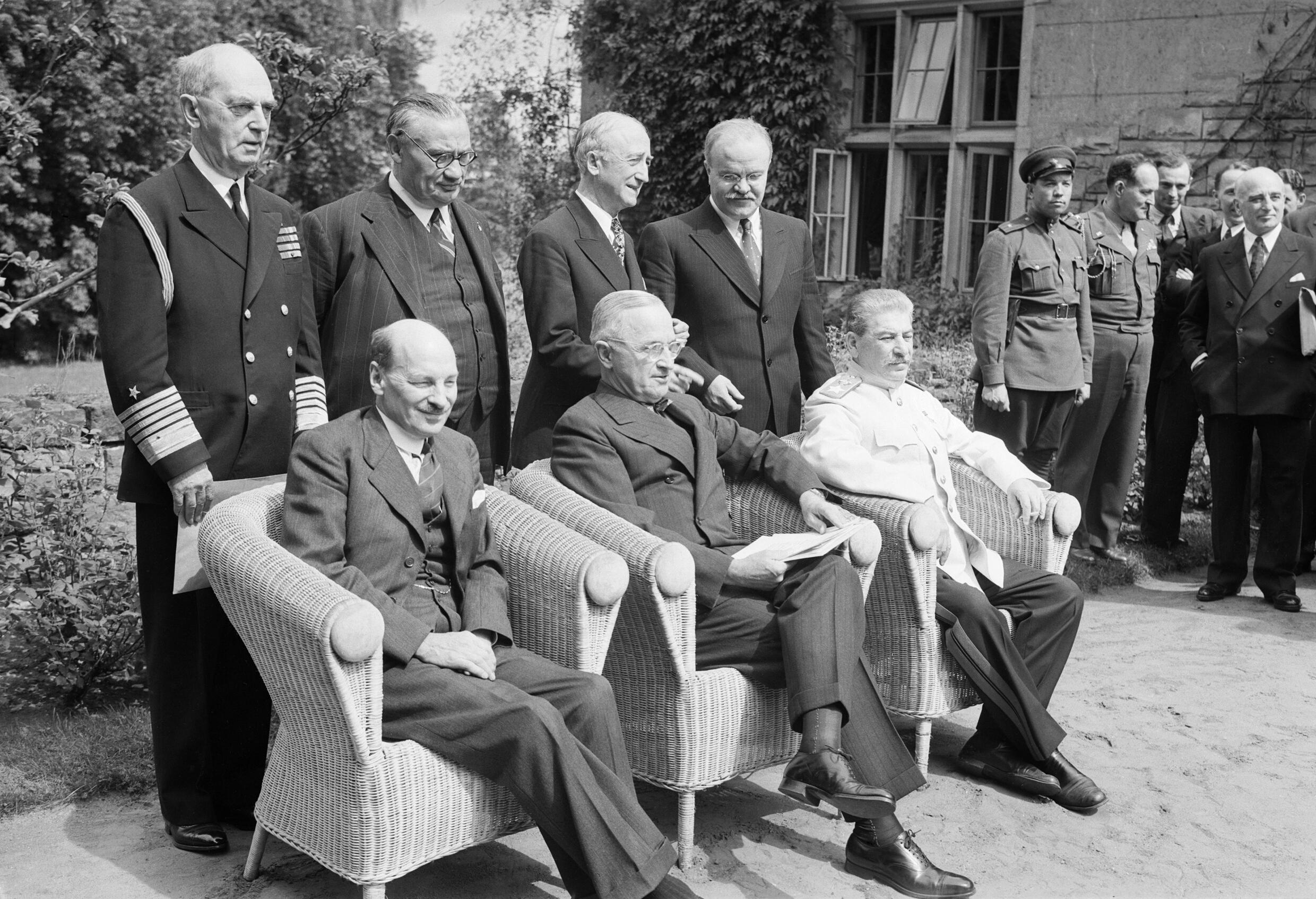 postdam conference Throughout the course of wwii, leaders of many allied nations met many times to discuss strategy then, near the end of the war, two historic.